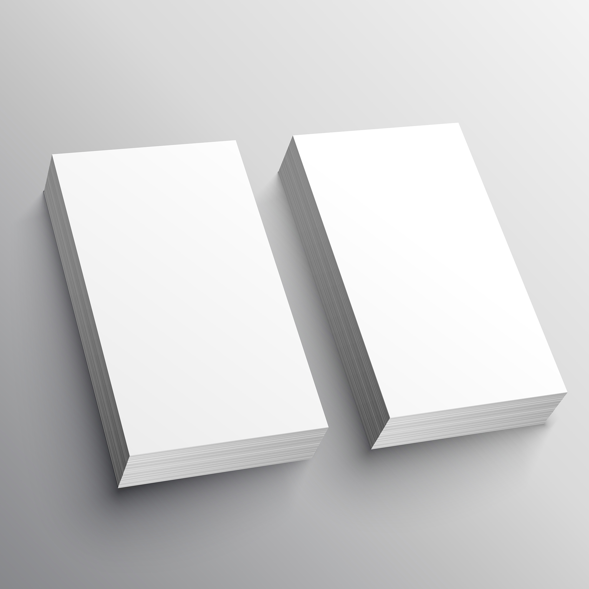 blank business card mockup presentation design